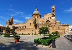 Palermo Cathedral reaches high in the sky