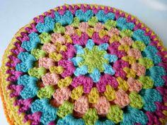 Posapavas tejidos en crochet
