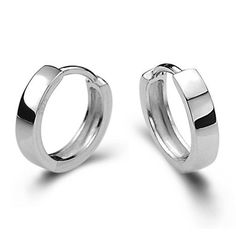 2016 Silmple Geometry Round Small Hoop Earrings For Men Women Silver Plated Huggies Earrings Jewelry Pendientes Hombre