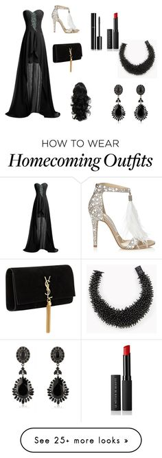 """Untitled #20"" by brandy-carringer on Polyvore featuring Brunello Cucinelli, Chanel, Givenchy, Le Métier de Beauté, Yves Saint Laurent and Jimmy Choo"