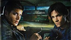 A gallery of Supernatural publicity stills and other photos. Featuring Jensen Ackles, Jared Padalecki, Misha Collins, Jim Beaver and others. Dean Winchester Supernatural, Supernatural Episodes, Supernatural Pictures, Supernatural Fan Art, Supernatural Convention, Supernatural Wallpaper, Sam And Dean Winchester, Winchester Brothers, Sam Dean
