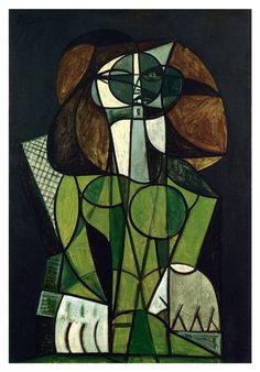 Pablo Picasso (1881-1973) Femme assise, 1946