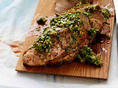 Välimeren porsaanfilee Just Eat It, Salmon Burgers, Steak, Turkey, Beef, Treats, Cooking, Ethnic Recipes, Food
