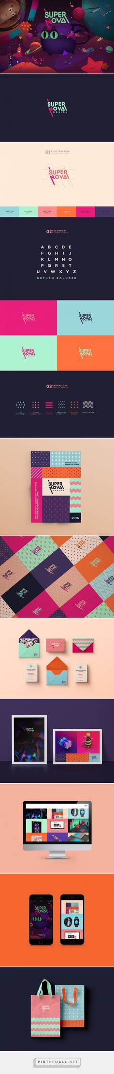 Supernova Design Branding on Behance | Fivestar Branding – Design and Branding Agency & Inspiration Gallery Más