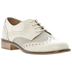 Dune brogues off-white