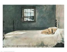 """""""Master's Bedroom"""" by Andrew Wyeth"""