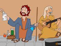 Beeldbijbel.nl Op deze site zijn een aantal bijbelverhalen in stripvorm verteld. Ook zijn er een aantal bijbelse allegorieen te vinden. Leuke site om eens een kijkje te nemen - voor kids vanaf grp1.
