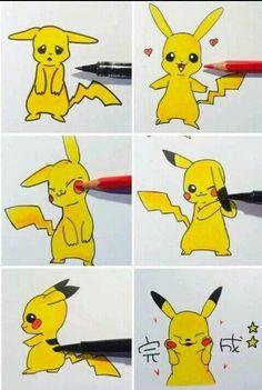 """Pikapika, pika, pikachuuuu, pikapi, pichupikapi, pikachu""  Pikachu"