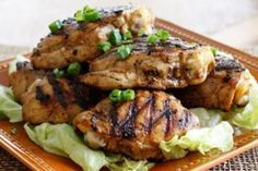 Smart Balance Recipe - Asian Marinated Grilled Chicken Thighs