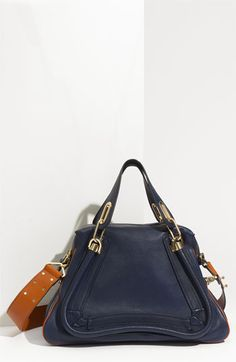 Chloé Paraty Military Leather Satchel | Nordstrom (ONE CAN DREAM...)