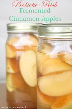 These taste like apple pie but they are so healthy! This is the perfect recipe for those who are interested in fermented foods because the recipe is so simple and the flavor is great. @thehettmans