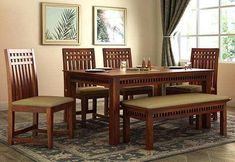 Dining Table Dimensions Rectangle 6 Seater