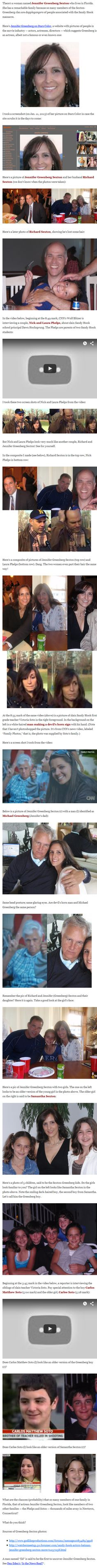 Remarkable resemblance of Sandy Hook victims and professional crisis actors