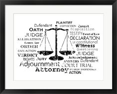 Law Office Design, Office Art, Office Decor, Lawyer Quotes, Lawyer Office, Paralegal, Fine Art Prints, Words, Gardens