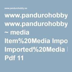 www.pandurohobby.se ~ media Item%20Media Imported%20Media Pdf 11 i_85112_se.ashx