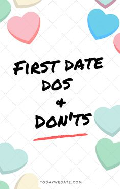 4 top tips scheduling first date
