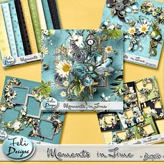 Moments in Time Bundle (PU/S4H) by Feli Designs   #digiscrap #theStudio