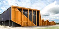 Sportschießstätte in Kanada / Treffsicher - Architektur und Architekten - News / Meldungen / Nachrichten - BauNetz.de