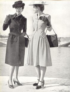 1940s Day wear | 1940s Fashion