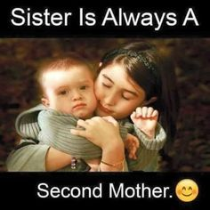 """108 Sister Quotes And Funny Sayings With Images """"Little sisters remind big sisters how wonderful it is to play in the sand. Big sisters show little sisters Brother Sister Love Quotes, Brother And Sister Relationship, Brother Birthday Quotes, Sister Quotes Funny, Brother And Sister Love, Daughter Poems, Funny Quotes, Brother Status, Sister Songs"""