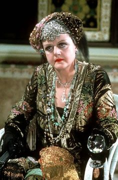 Angela Lansbury in  Death on the Nile
