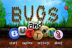 Bugs and Buttons: a great app for autistic kids (that isn't an autism app). An outline of why I think this app is particularly well-suited to autistic children. Includes a video of my son Oliver playing with the app. Button Animation, Great Apps, Fun Apps, Autistic Children, Young Children, Early Learning, Learning Apps, Preschool Learning, Preschool Websites