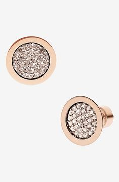 MICHAEL Michael Kors Michael Kors 'Brilliance' Stud Earrings available at #Nordstrom