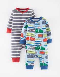 Twin Pack Rompers 70060 Rompers at Boden