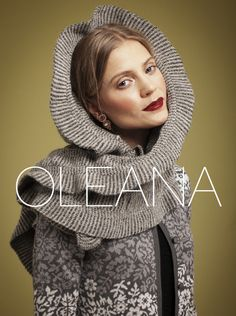 "OLEANA Collection Catalogue Cover ""News AW13"""
