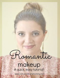 Romantic Valentine's Day Makeup Bare Minerals Blush, Romantic Makeup, Valentines Day Makeup, How To Apply Mascara, Pink Eyeshadow, Gel Liner, Natural Lips, Tinted Moisturizer, Girls Makeup
