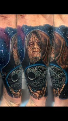 Darth Sidius tattoo