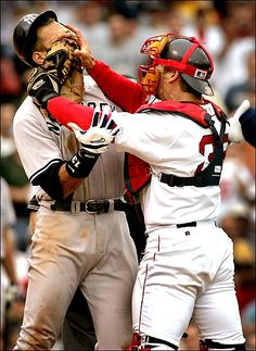 I remember watching this on TV and wooting! #redsox #tek