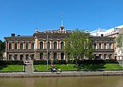 Turun kaupungintalo, muutostyön suunnitteli Frans Sjöström. (uusrenessanssi)