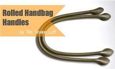 Tutorial: DIY leather purse handles
