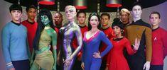 Star Trek M-A-C Transports Star Trek to Comic-Con