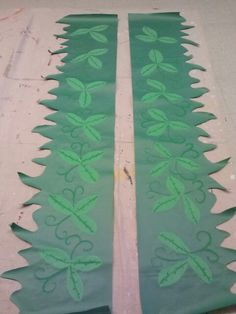 Leaves for trees weird animals VBS