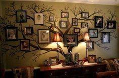 Creative Idea for a Family Tree!