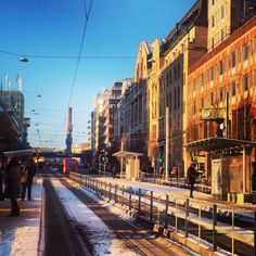 Hamngatan #stockholm. One of the main shopping streets in the city.