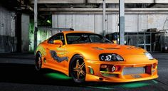 Fast and Furious Cars Toyota Supra