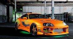Fast and Furious Cars Toyota Supra