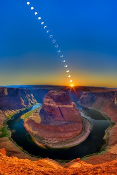 Ring of Fire - Horseshoe Bend Williams Arizona USA. Photo By Clinton Melander
