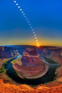 Ring of Fire - Horseshoe Bend Williams Arizona USA. Photo By Clinton Melander