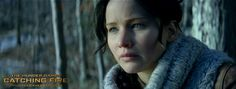 It was impossible for her to forget... Katniss Everdeen (Jennifer Lawrence) in The Hunger Games: #CatchingFire.