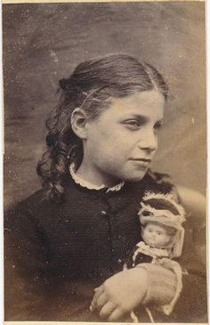 Girl with Doll #1880s #VBT