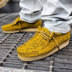 9d11d10b6b Concepts Is Dropping a Snakeskin   Suede Clarks Wallabee Moc This ...