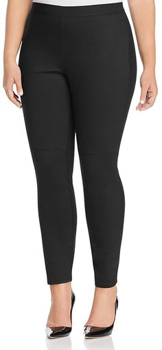6f06d6a818e Eileen Fisher Plus Waxed Front Seam Leggings -- Click image for more  details.