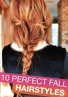 A flawless look isn't complete until you have the perfect hairstyle!