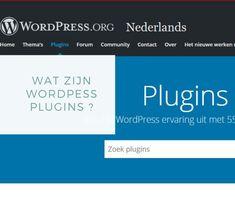 Wat is een WordPress plugin ?   Webdesign   Full service internetbureau Seo Vyo Web Design Tips, Web Design Inspiration, Wordpress Plugins, Seo, Software