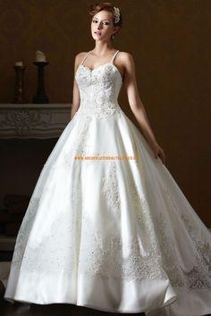 Eden Black A-linie Glamouröse Dramatische Brautkleider aus Taft mit Schleppe mit Applikation