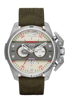 Men s Ironside Nylon Strap Watch Diesel Watches For Men, Best Watches For  Men, Diesel a31f23f430f